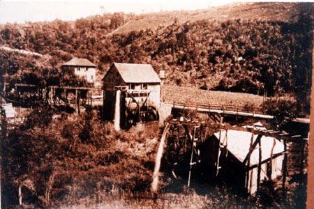 Aspecto do Moinho Bertarello no início do século XX