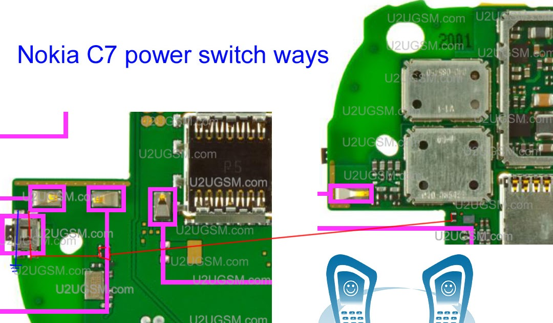 Nokia C7 On  Off Button Switch Ways Jumpers Problem