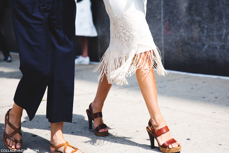 New_York_Fashion_Week_Spring_Summer_15-NYFW-Street_Style-Fringed_Skirt-Striped_Shirt-1