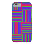 Multicolored Weaved Squares Barely There iPhone 6 Case