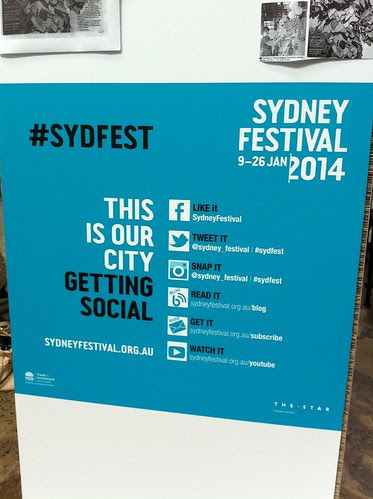 #sydfest makes it really easy to connect online by ellen forsyth