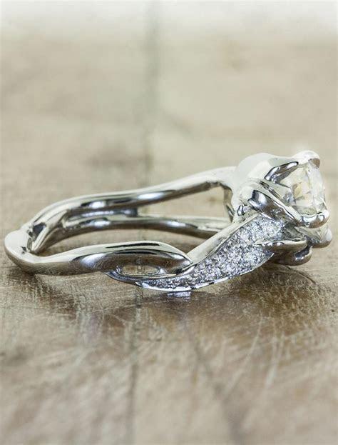 Sundara: Unique Sculptural Split Shank Diamond Ring   Ken