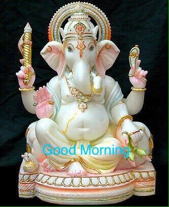 God Ganesha Good Morning Wishes Greetings1