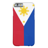 Philippines Flag Barely There iPhone 6 Case