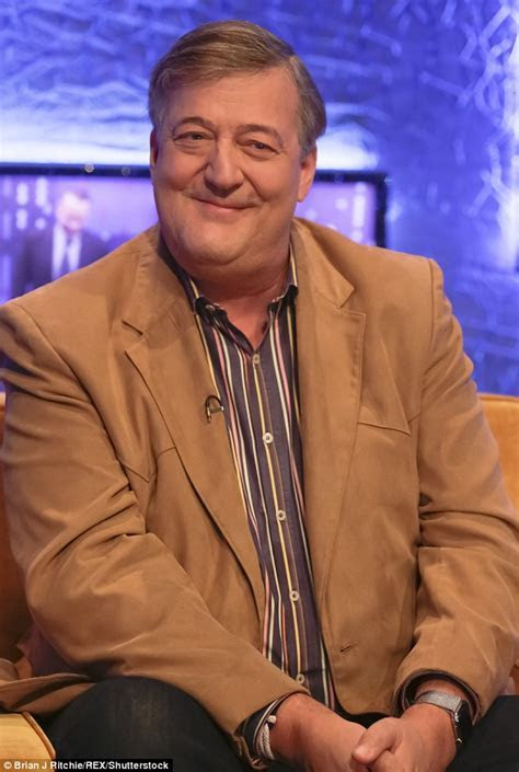 Stephen Fry talks about his marriage to husband Elliott
