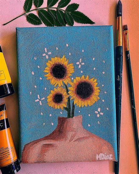 diy easy canvas painting ideas  beginners