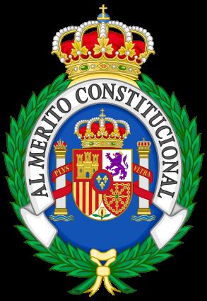 Archivo: Insignia de la Orden Española de Merit.svg Constitucional