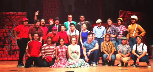 The West Side Story musical was presented at Roosevelt High School in Boyle Heights on Friday night.(Courtesy of Roosevelt High School)