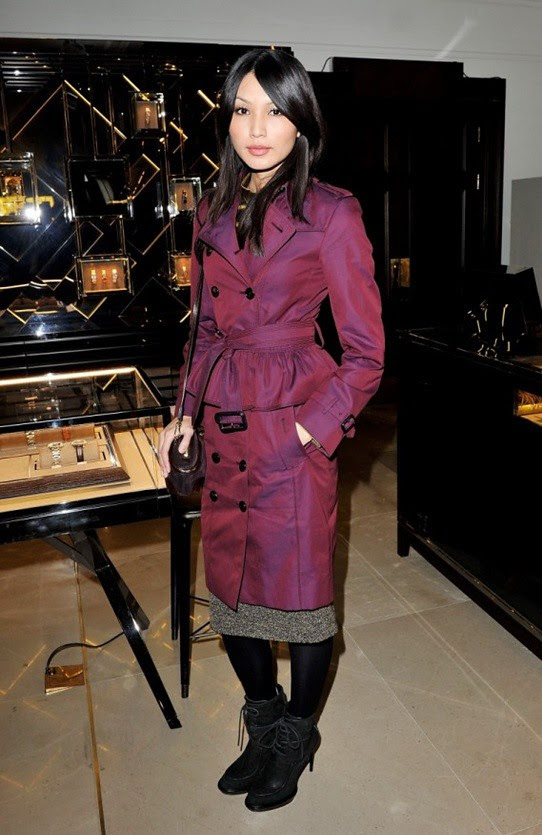 5 Gemma Chan at the launch of The Britain at Burberry Regent Street, London