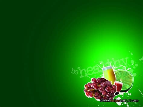 Food background ppt #2766