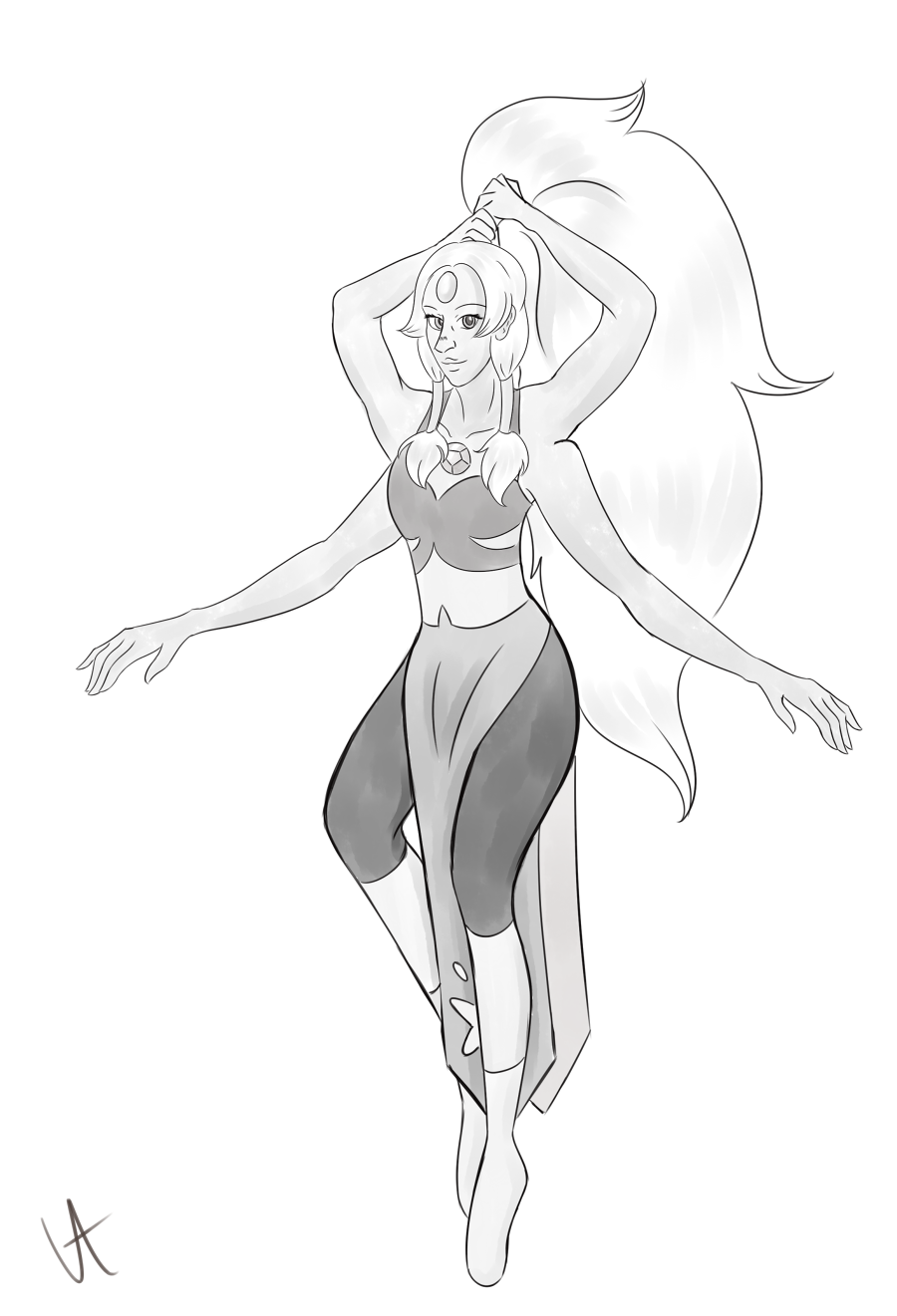 Finally made something for Inktober! Opal is my favourite fusion but I haven't really got around to drawing her before. But since opal is the birthstone of October as well, this felt like the perfect...