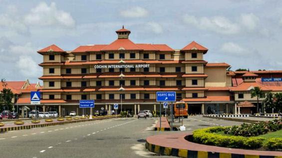 IMPORTANTE. El aeropuerto de Cochín, en el estado de Kerala, es el cuarto de la India en cantidad de tráfico internacional (Foto Grupo Edisur).