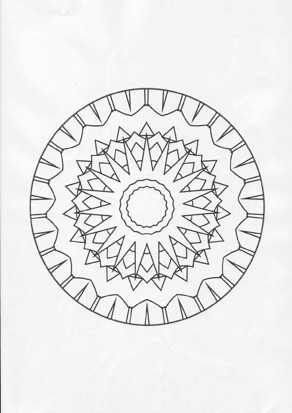 Dibujos Para Colorear Mandalas Eshellokidscom