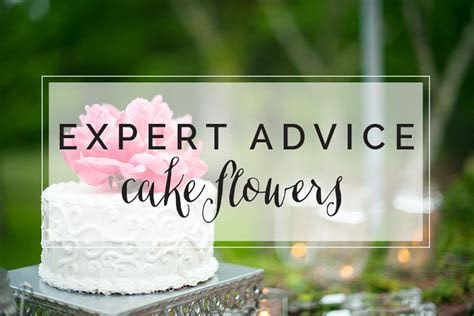 Cake Flowers: Real vs. Fake   The Celebration Society