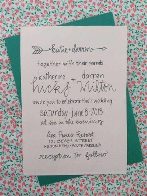 Best 25  Casual wedding invitations ideas on Pinterest