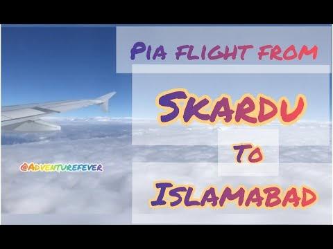 PIA Flight From Skardu To Islamabad