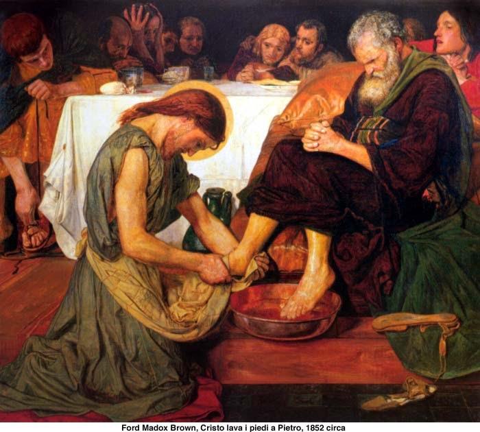 Risultati immagini per Benedetto XVI lavanda piedi