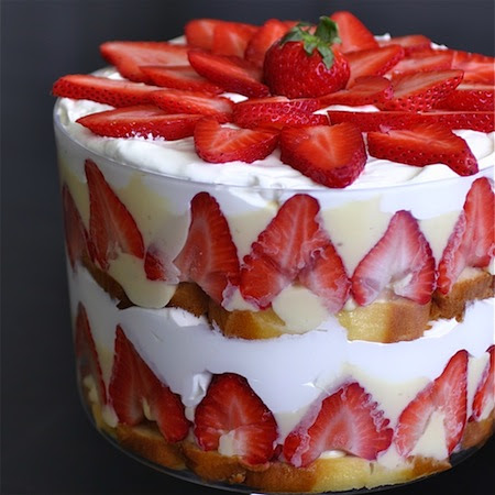 Strawberry Memorial Day Desert Trifle 1 copy