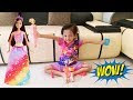 Mainan Masak-masakan Bersama Boneka Cantik - Toys Cooking With Beautiful Dolls