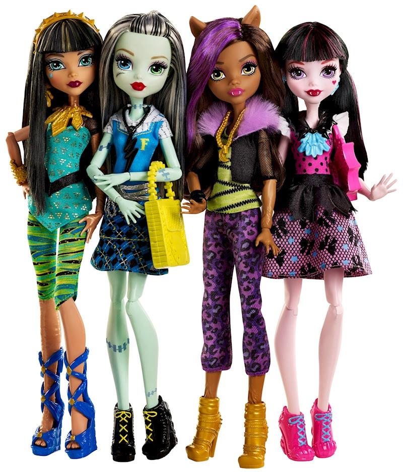 Muñecas Monster High Nuevas Completas
