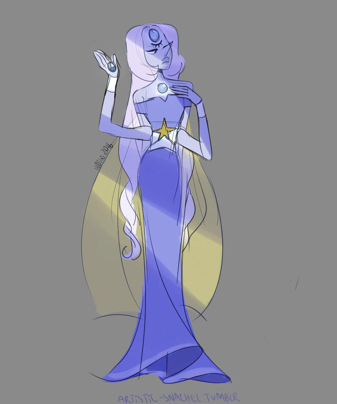 blue pearl + pearl + sapphire = larimar?