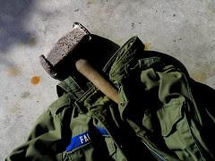 Coat, Man's, Field w Hood