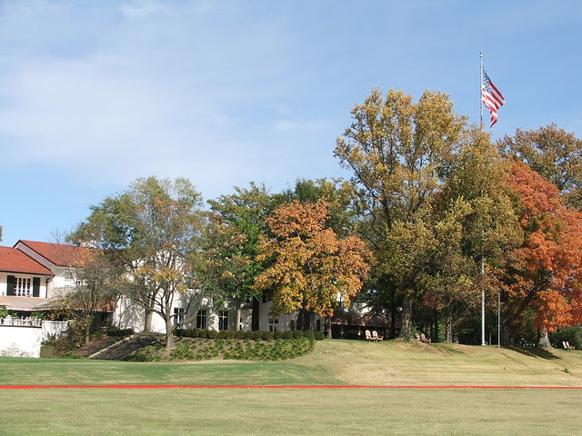 Clubhouse and Polo field