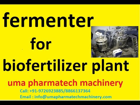 industrial fermenter manufacturer