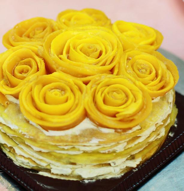 Mango Mille Feuille from Dessert Playground