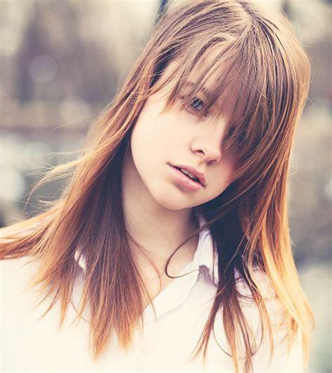 incredible medium length hairstyles  bangs
