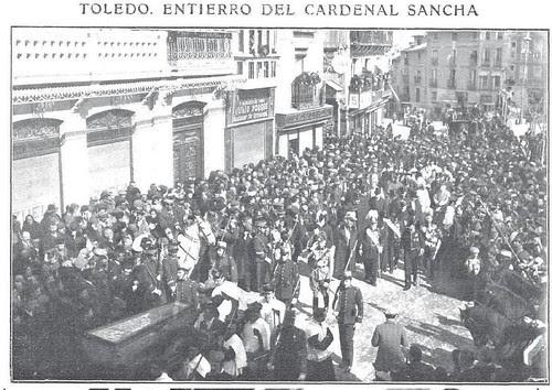 Entierro del Cardenal Sancha. Foto R.Cifuentes para revista Actualidades