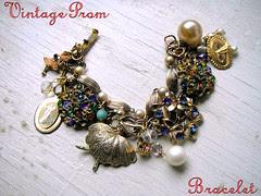 Vintage Prom Bracelet!