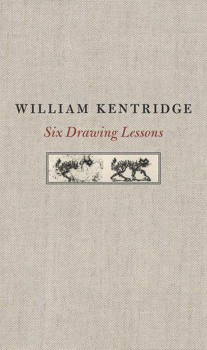 Cover: Six Drawing Lessons, from Harvard University Press