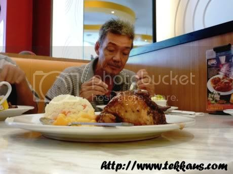 Birthday,Kenny Rogers Roasters,Baskin Robbin Ice Cream Cake