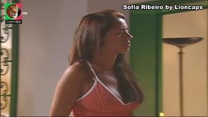 Sofia Ribeiro sensual na novela Meu Amor