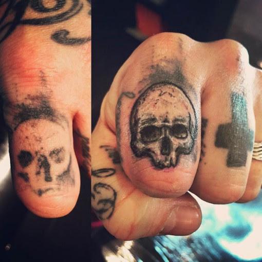 Finger Skull Tattoo Cover Up Best Tattoo Ideas Gallery