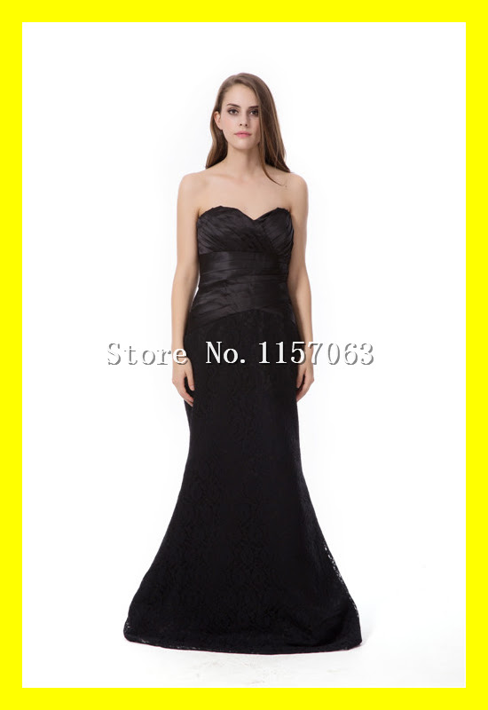 Black evening dress perth