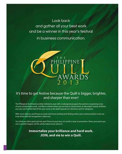 2013 Philippine Quill Awards