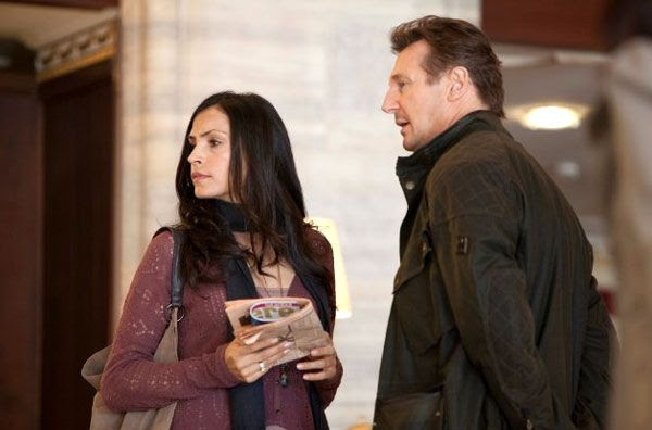 Famke Janssen and Liam Neeson in TAKEN 2.