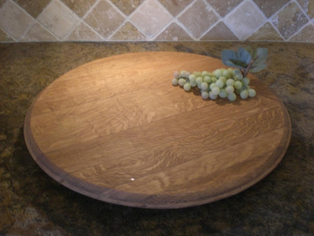 Wine Barrel Footrest Table Stool Woodworking Plans