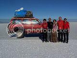 Gezi arkadaşlarımla - Salar de Uyuni (Bolivya)