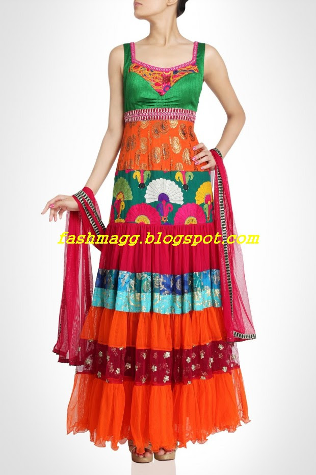 Amazing-Bridal-Wear-Indian-Fashionable-Dress-Designs-for-Cute-Girls-3