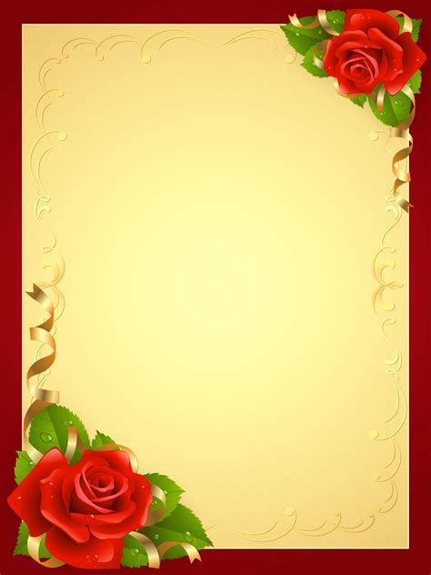 Cute Background with Roses   Gallery Yopriceville   High