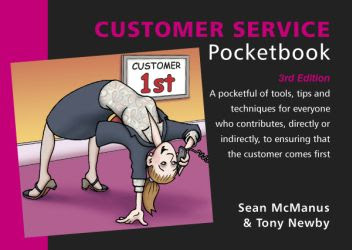 Book cover: The Customer Service Pocketbook