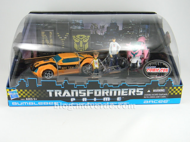 Transformers Bumblebee Deluxe - Transformers Prime - caja