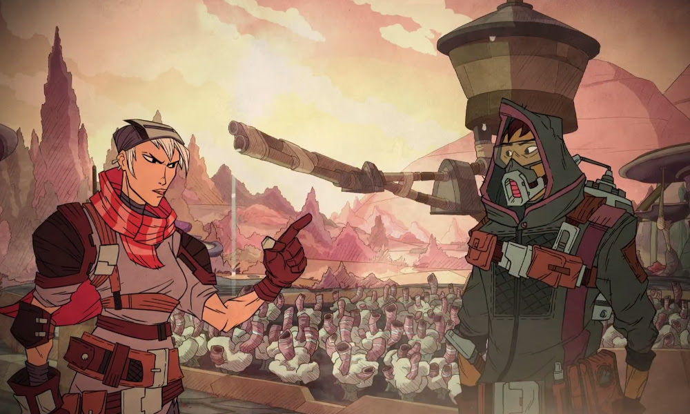 Steal and plunder in Klei's all new Grift Lands screenshot