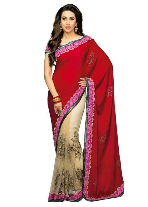 Karishma Kapoor In Designers Sarees Pics Beautiful Dress