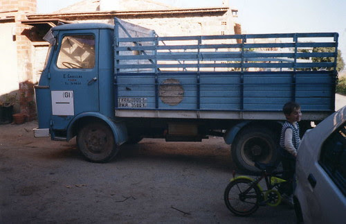 camió Nazar a Foixà (Girona)