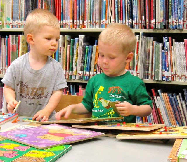 Visiting the Library
