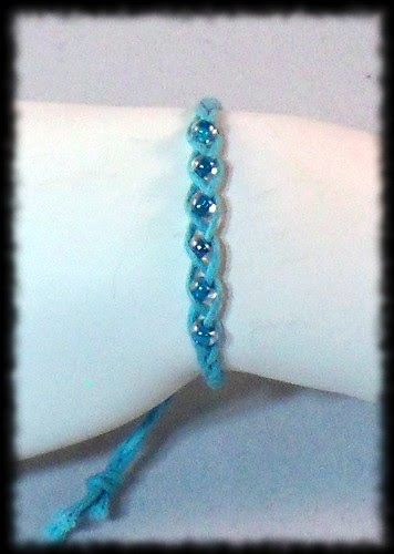 Braded Bracelet with Beads